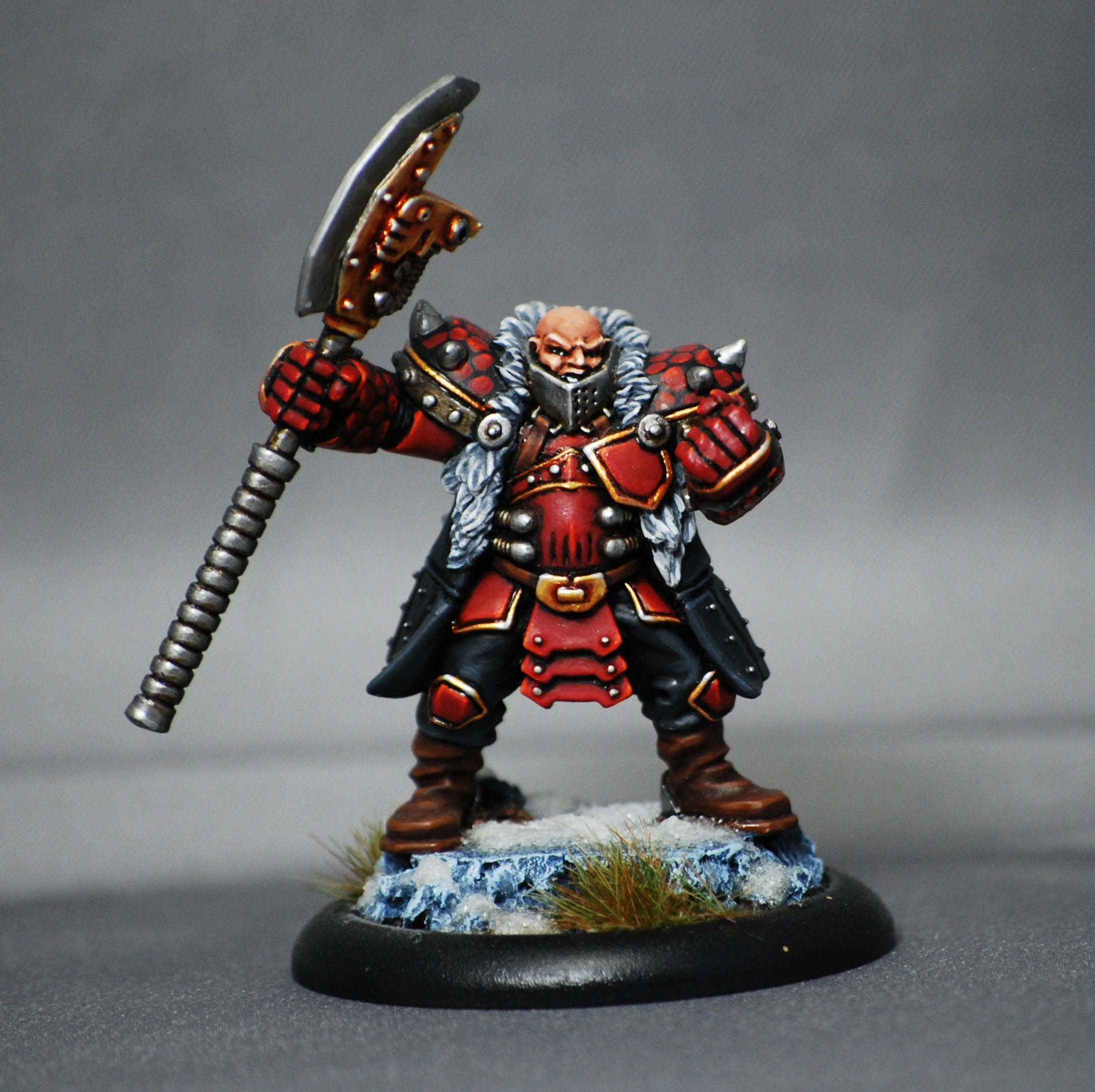 Khador Warcaster : Butcher of Khardov