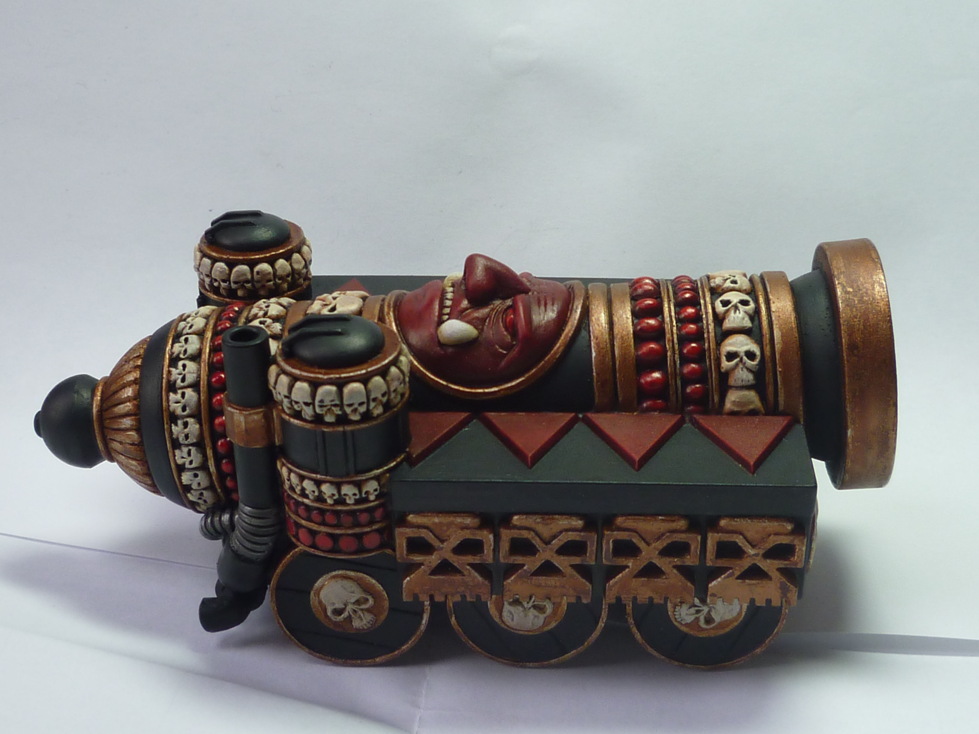 CoolMiniOrNot - Cannon of Khorne by Papy_truc