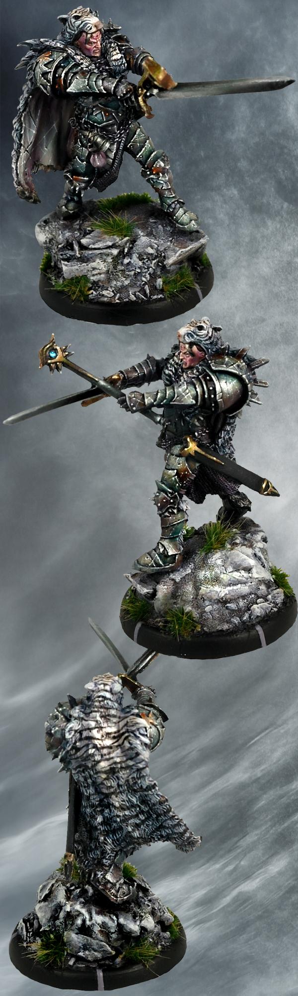 Maagaan, Warlock of Balor, Mierce Miniatures