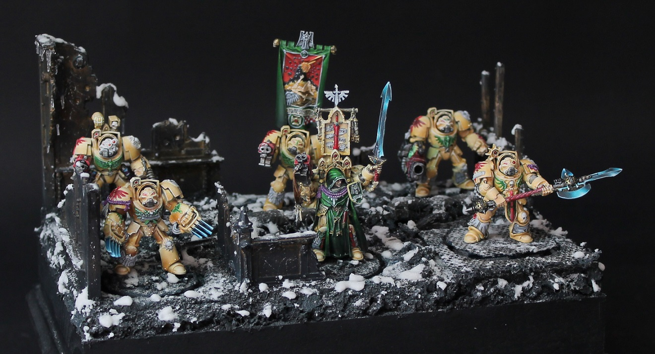 Dark Angels - Deathwing Command Squad