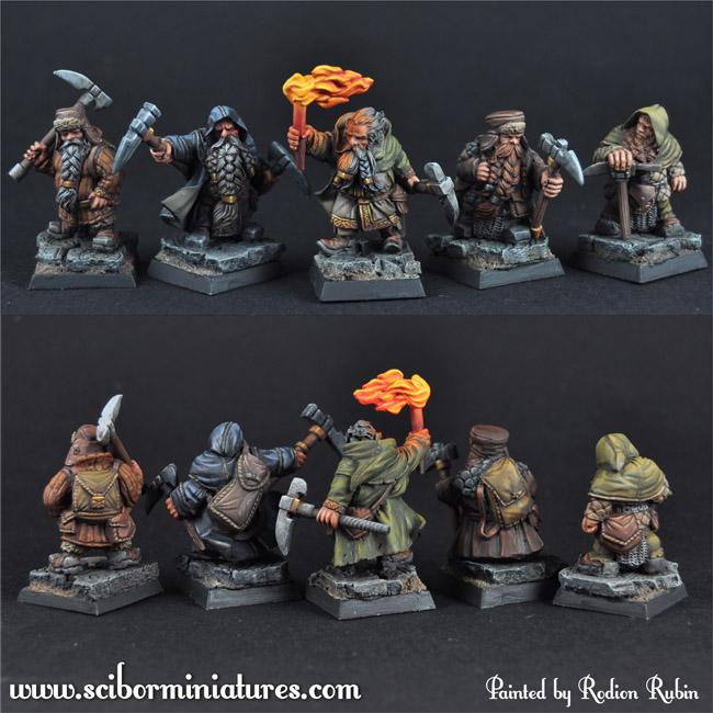 Dwarfs Miners