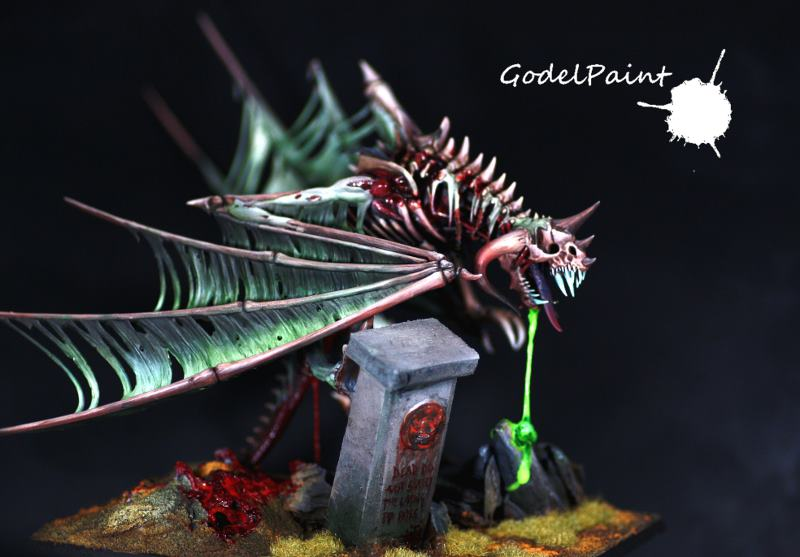 CoolMiniOrNot - Dragon Zombie by Godel