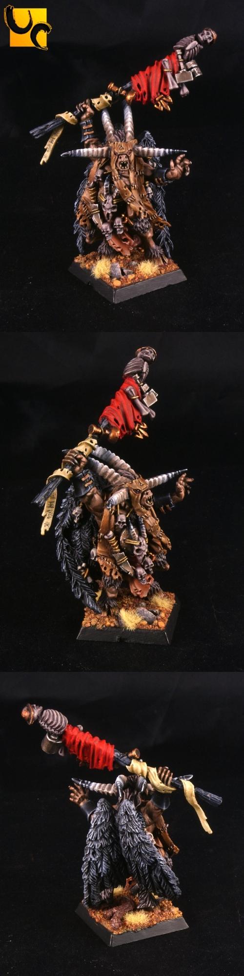 Dominatrix tied up