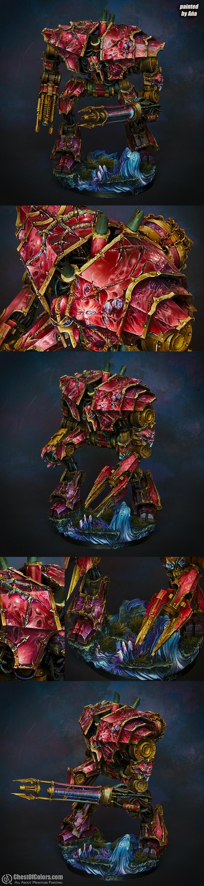 Chaos Decimator Engine [Forge World] - more close-ups