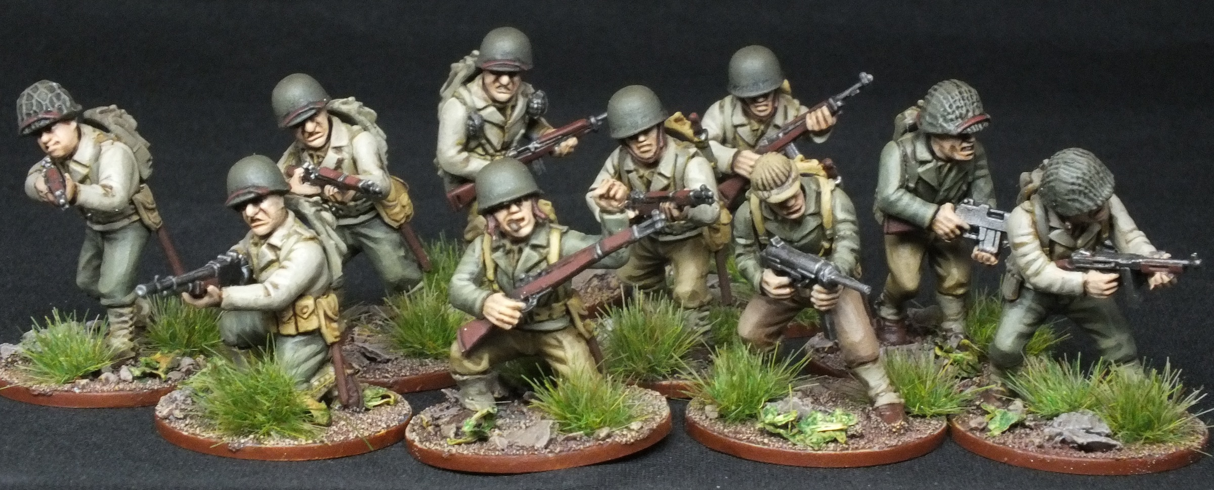Bolt Action 28mm US Infantry Warlord Games