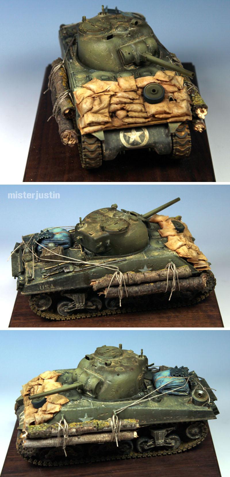 CoolMiniOrNot - 1/35 Sherman M4A3 by misterjustin