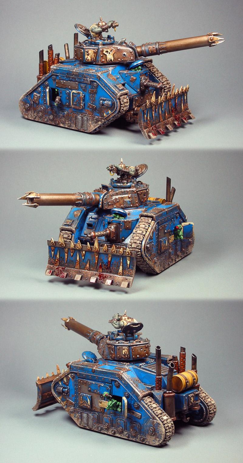 Ork Deathskullz Looted Tank