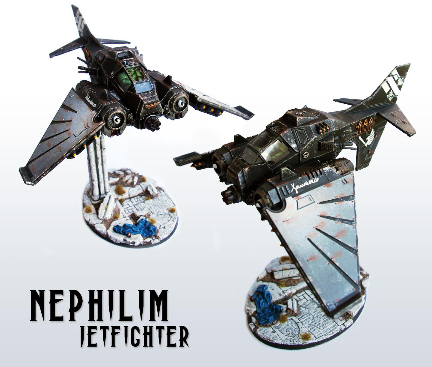 Dark Angels Nephilim Jetfighter