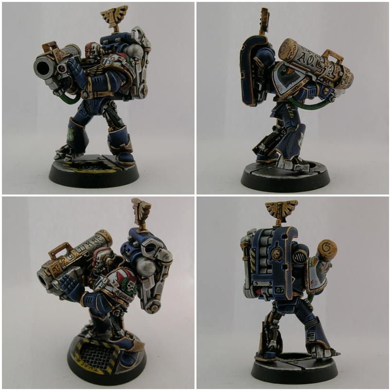 WITH MISSILE LAUNCHER SPACE MARINES CLASSIC METAL DEVASTATOR 6K