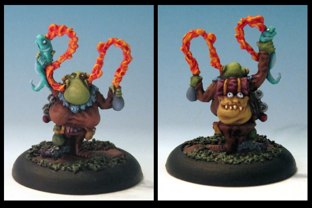 Unctious Pwoof: Smelven Smellementalist Low Life Minis