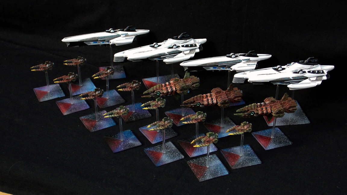 Firestorm Armada - Syndicate and Corsairs