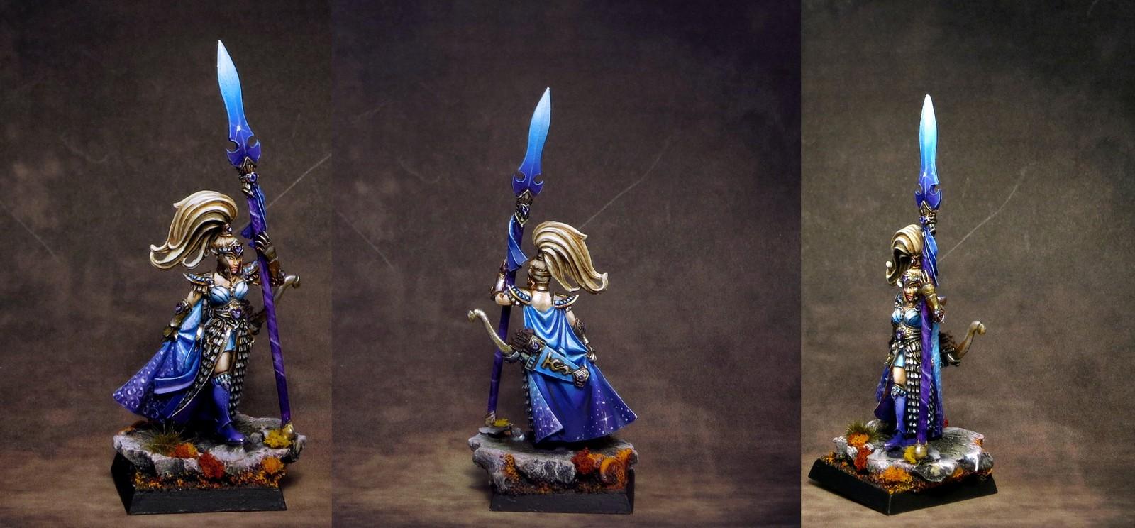 High Elf Handmaiden of the Everqueen 1 by Violet
