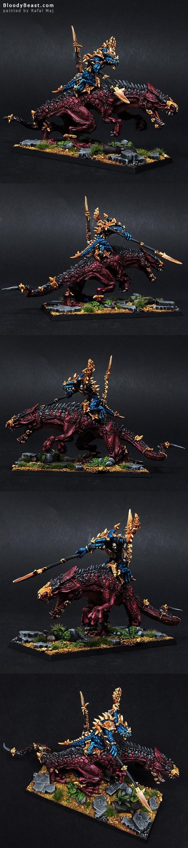 Lizardmen Ancient Scar Leader Kroq Gar