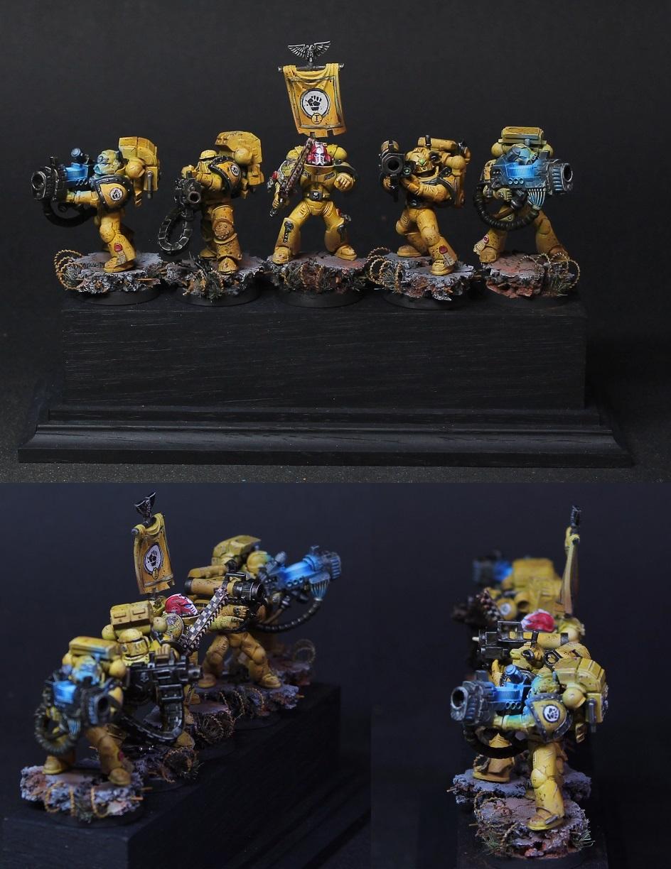 Imperial Fists Devastor Squad