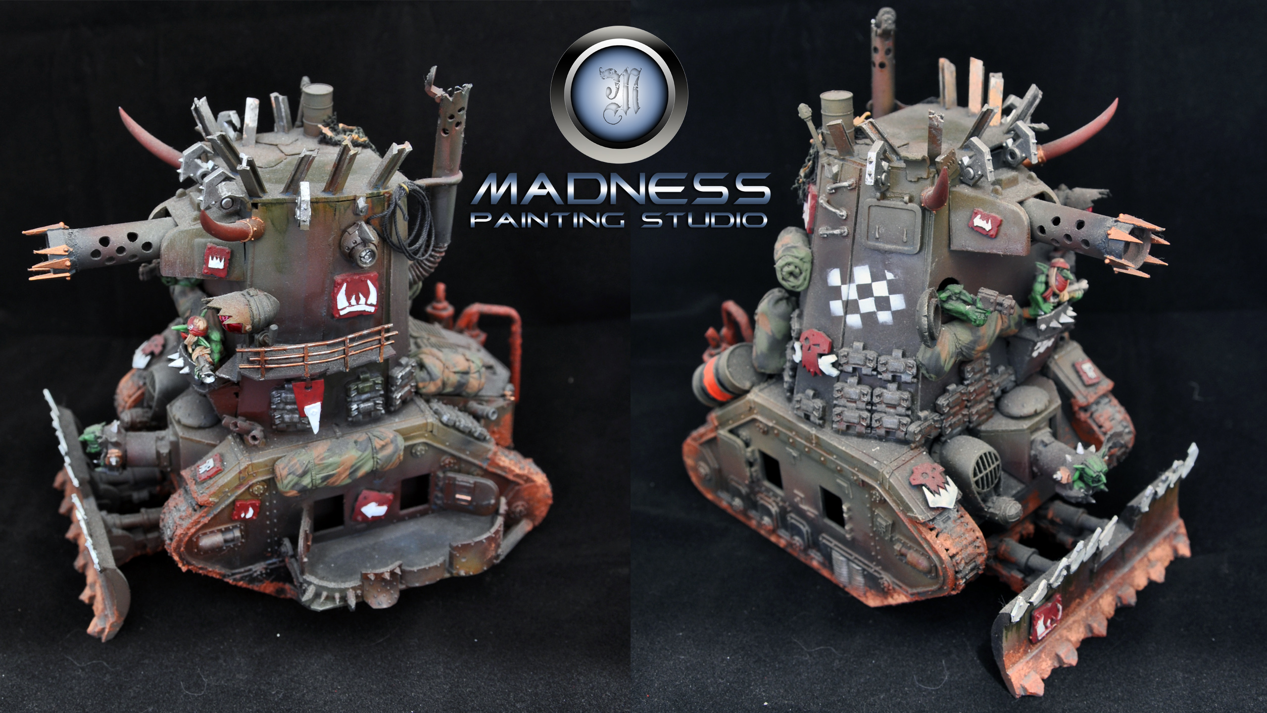 Coolminiornot Custom Made Grot Tank By Tattooman