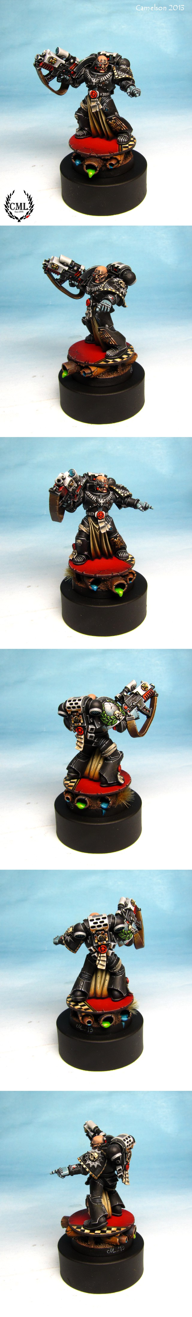 Space Marine Iron Hands Sternguard Veteran