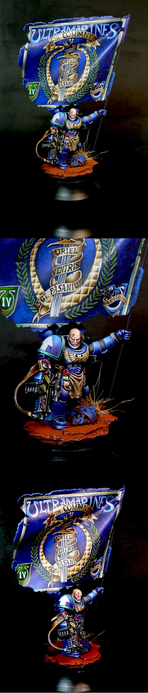 SPACE MARINE SILVER AWARD IN GOLDEN DEMON UK 2013