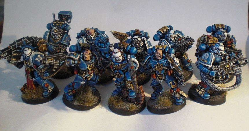 Ultramarines Army CoolMiniOrNot - Ultram...