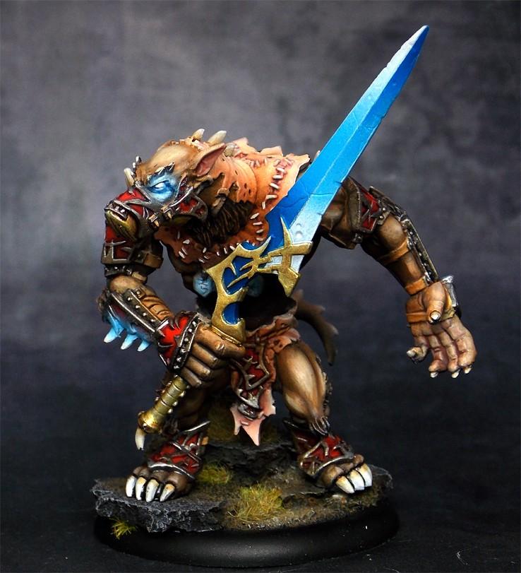 HORDES - Warpwolf Stalker