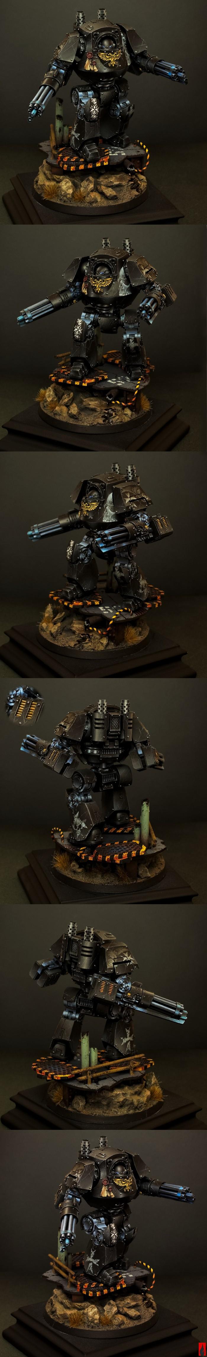 Black Templar venerable dreadnought