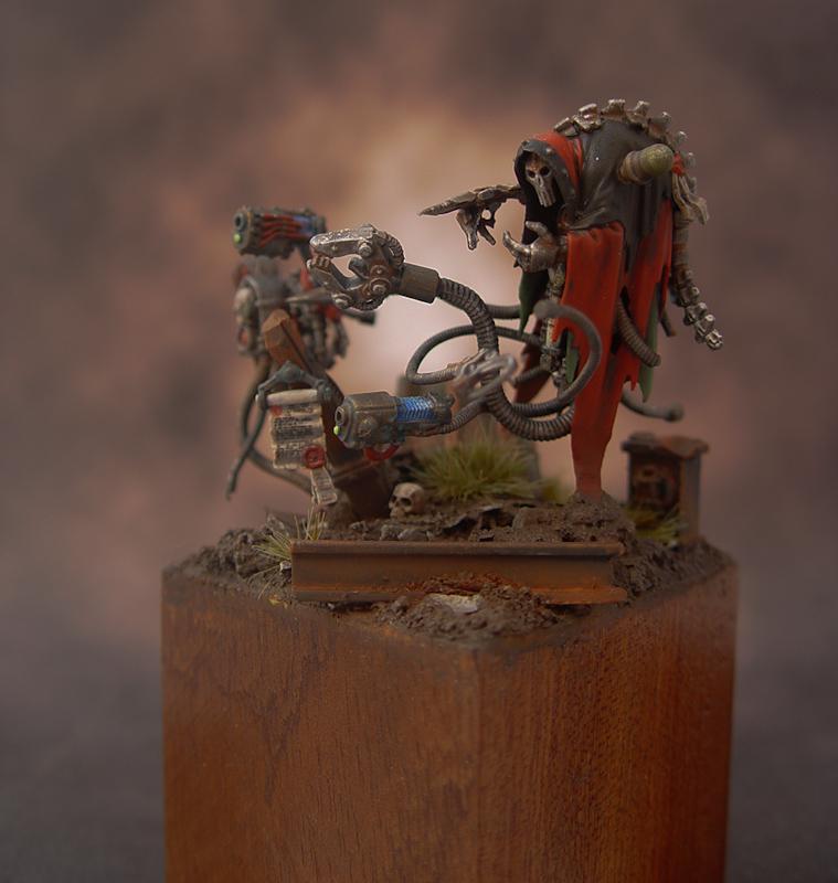 Adeptus Mechanicus cairn wraith