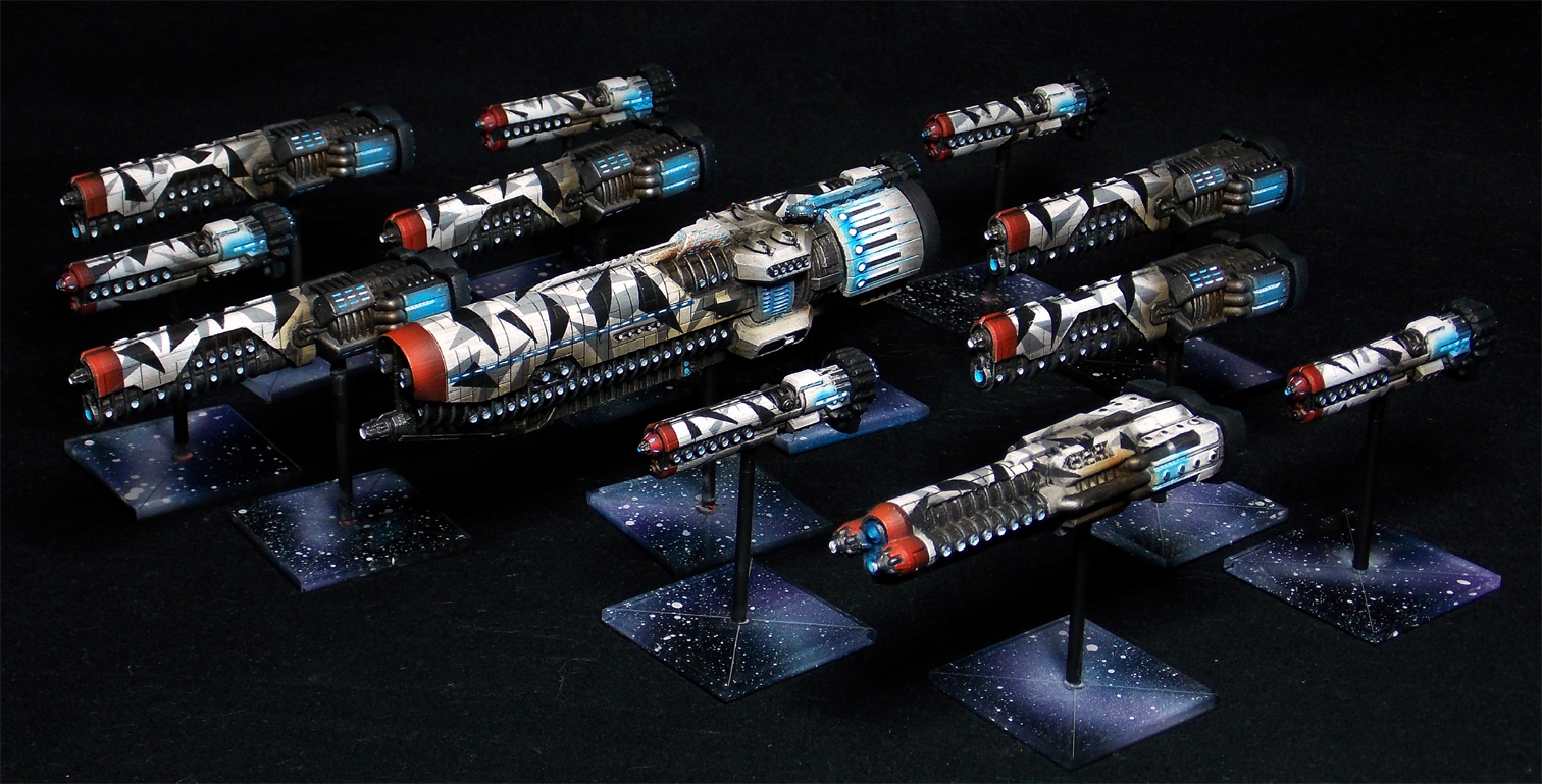 CoolMiniOrNot - Firestorm Armada – Sorylian Collective by Erebi