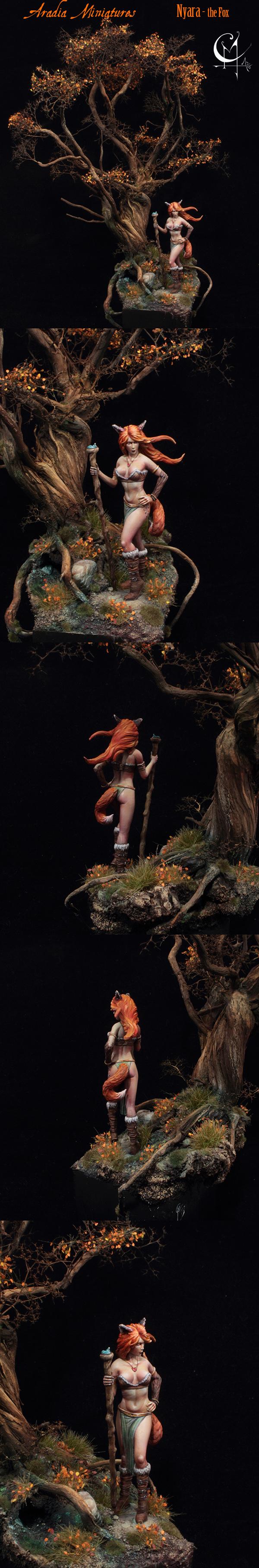 Nyara - the Fox lady