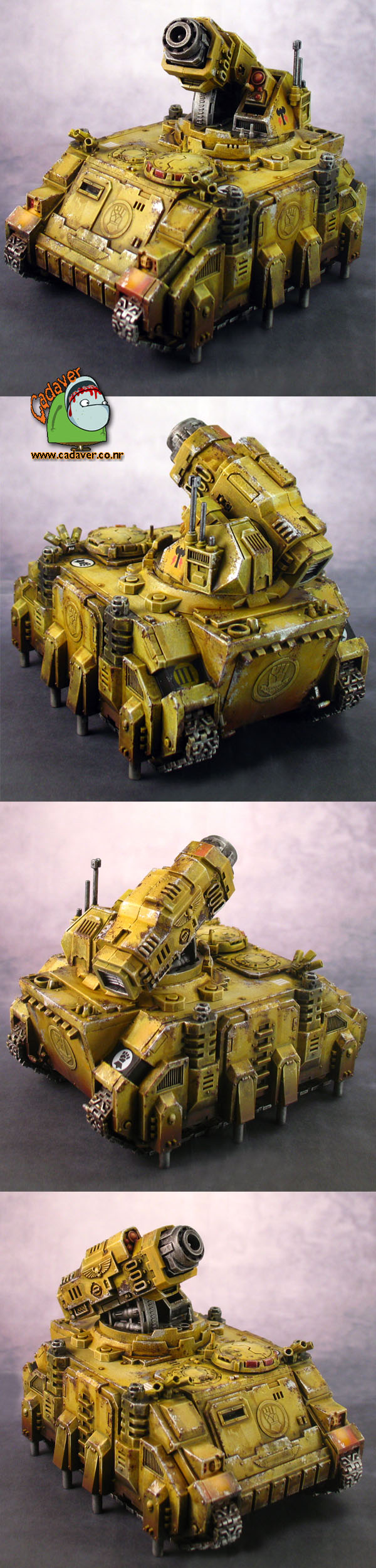 Space Marines Imperial Fists Hunter