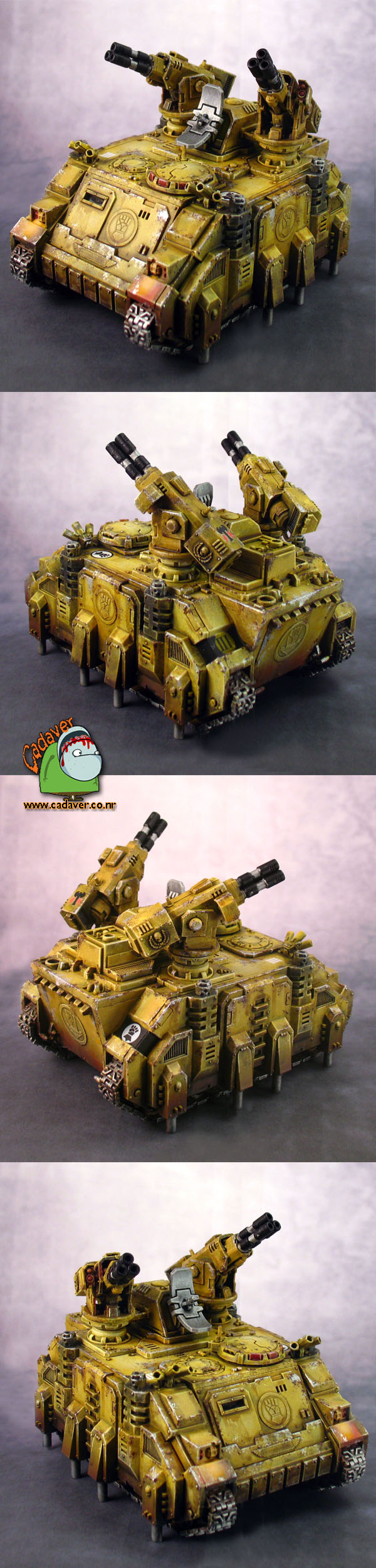 Space Marines Imperial Fists Stalker