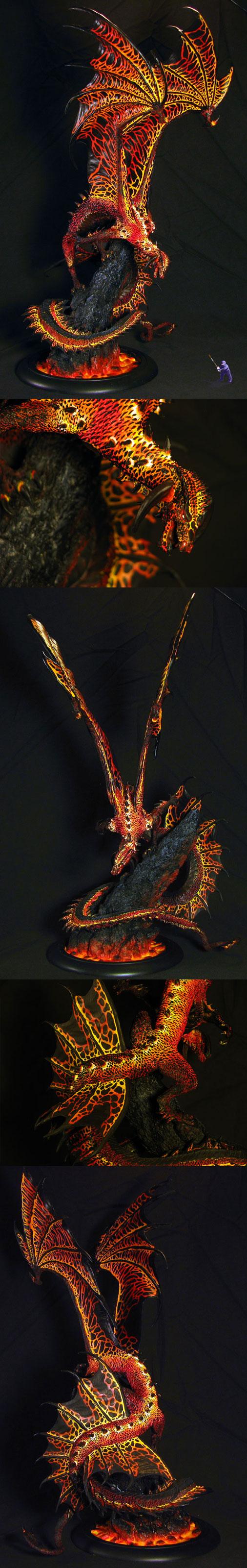 Viszeralyn the Oracle Dragon as Charsaug
