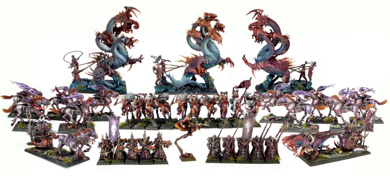 Dark Elves Army