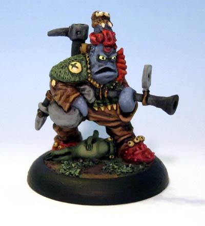 Angry Ubgunsker: Werm of the Happy Plate Club Low Life Minis