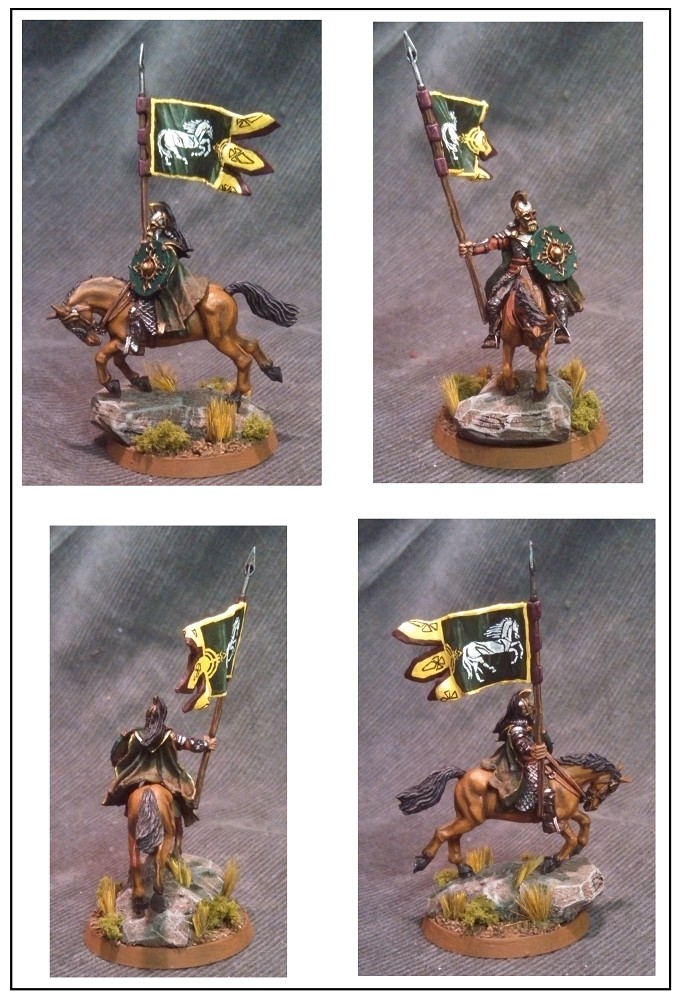 Mounted Rohan Royal Gaurd