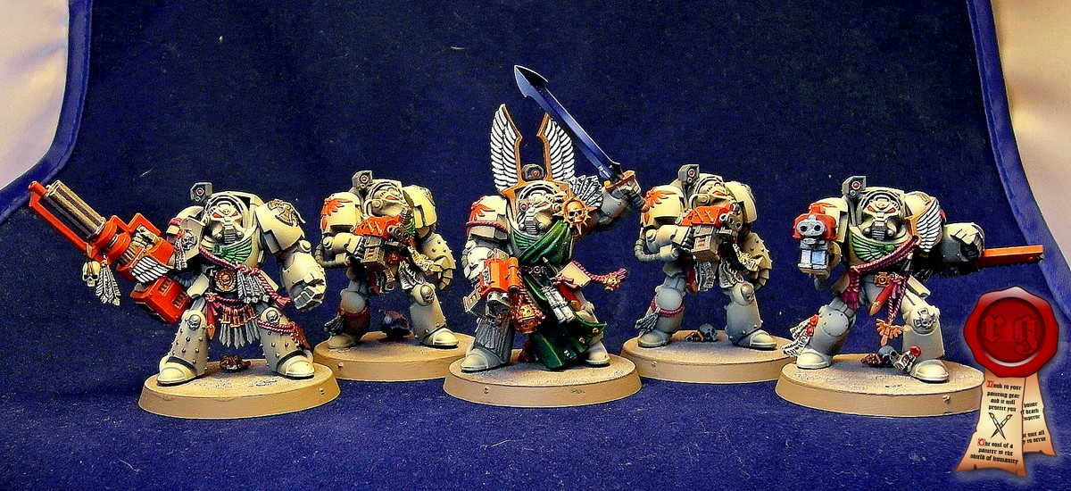 Dark Angels Deathwing Terminator Squad (Dark Vengeance)