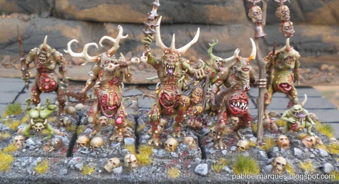 Plaguebearers of Nurgle / Portadores de la plaga de Nurgle