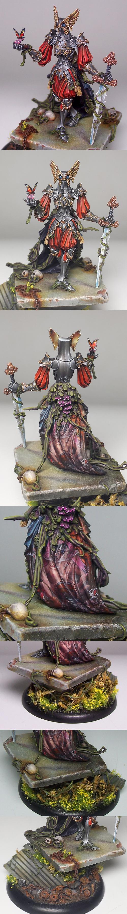 Kingdom Death - Flower Knight close ups