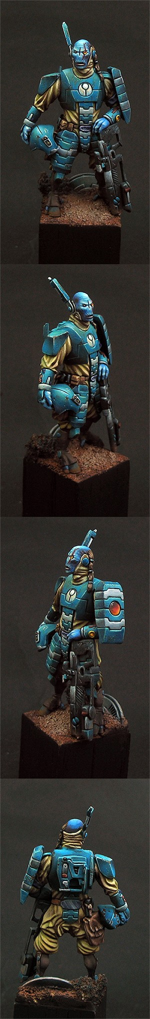 Tau --- Alien Commander 54 mm