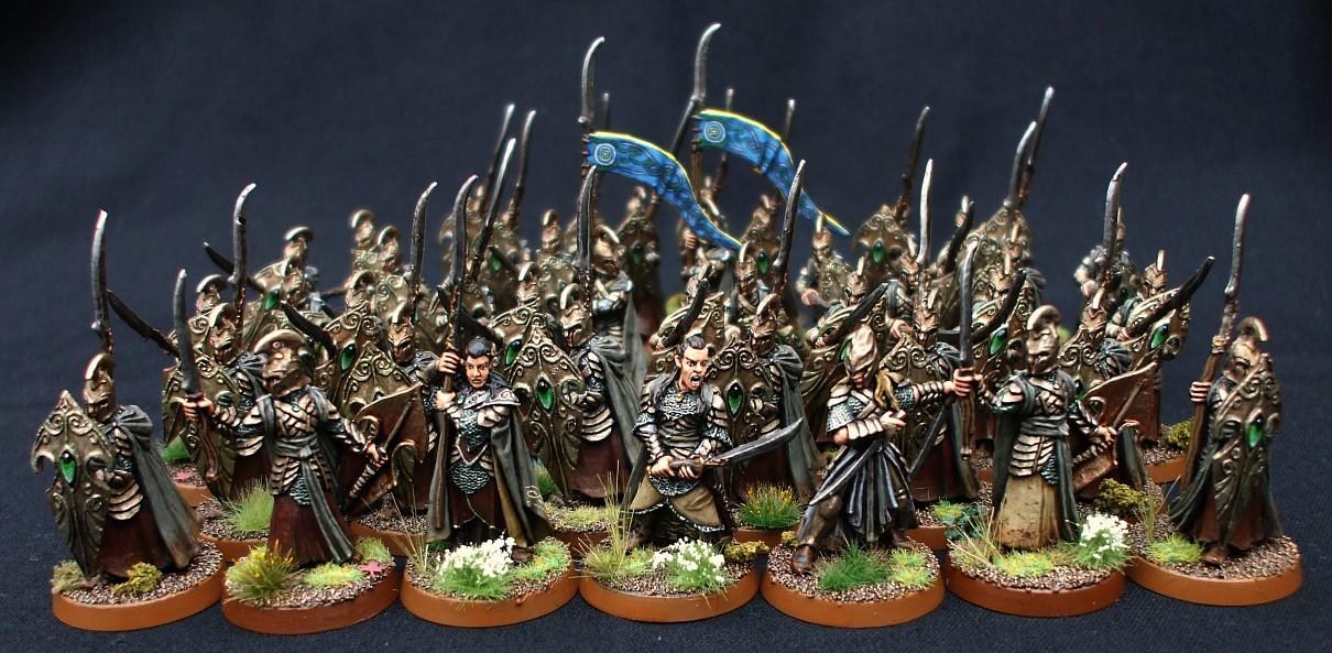 Coolminiornot Rivendell Elves By Dead Marsh Spectre