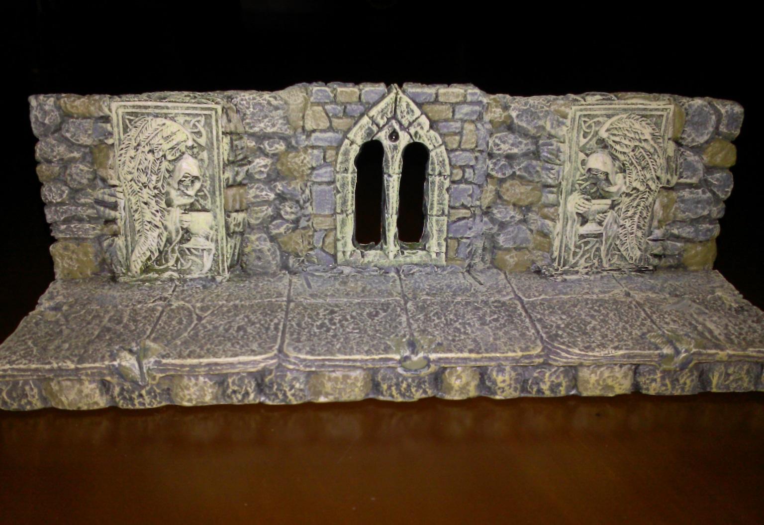 Dwarven Forge Conversion gothic window