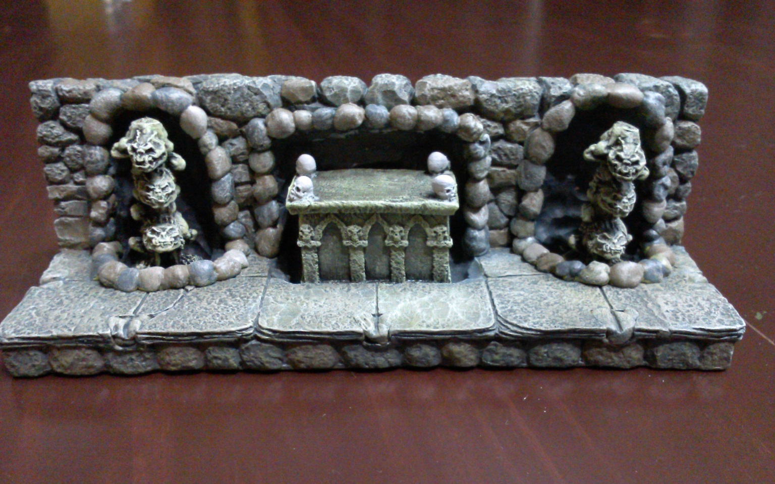 Dwarven Forge Conversion with Columns of Disaster