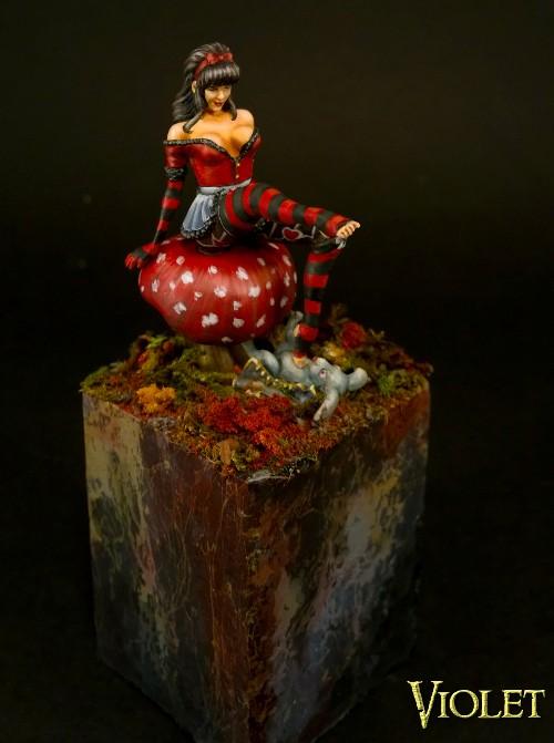 Goth Alice in Wonderland