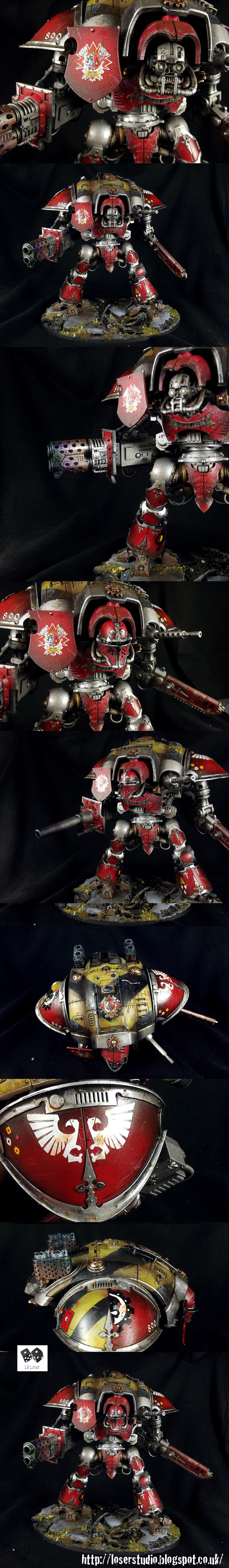 Imperial Knight House Taranis by Lil'Legend Studio