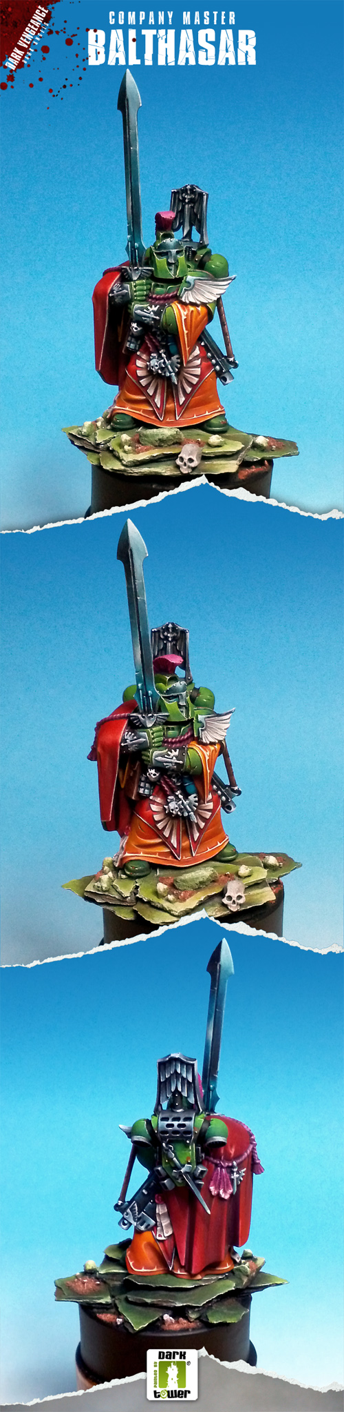 Dark Angels Company Master Balthasar (Dark Vengeance)