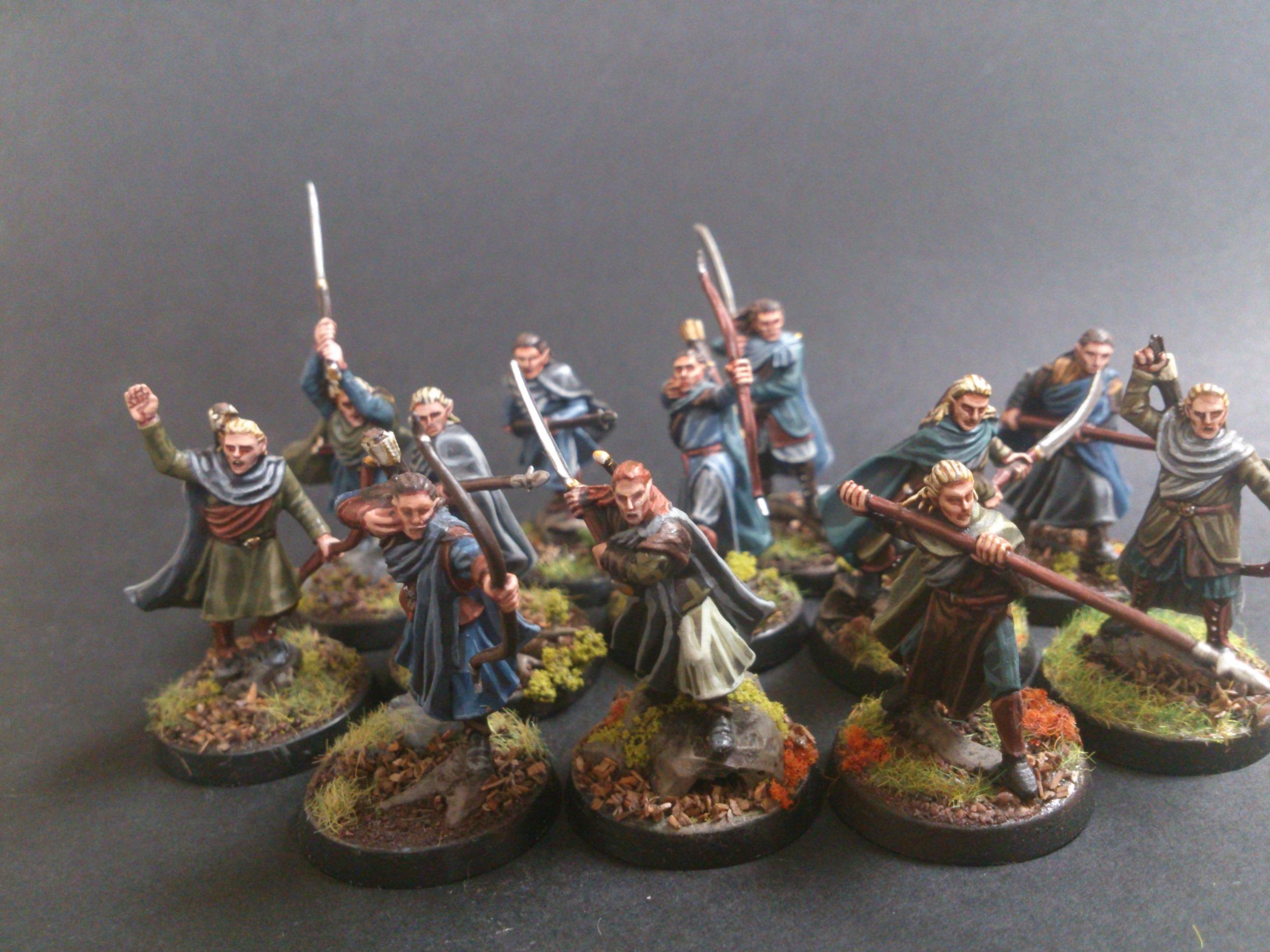 Coolminiornot Wood Elves Lotr Hobbit By Gene Parmesan
