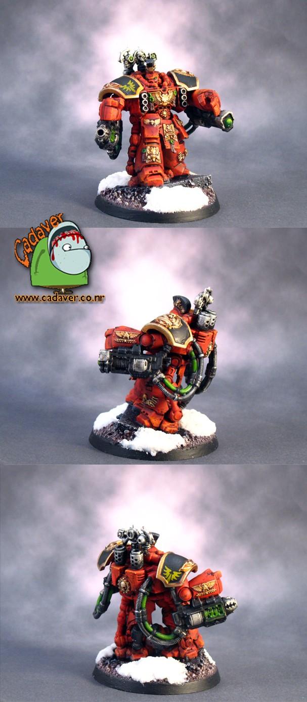Blood Angels Centurion Devastator