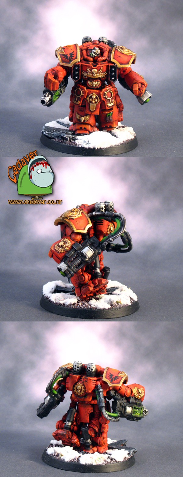 Blood Angels Centurion Devastator