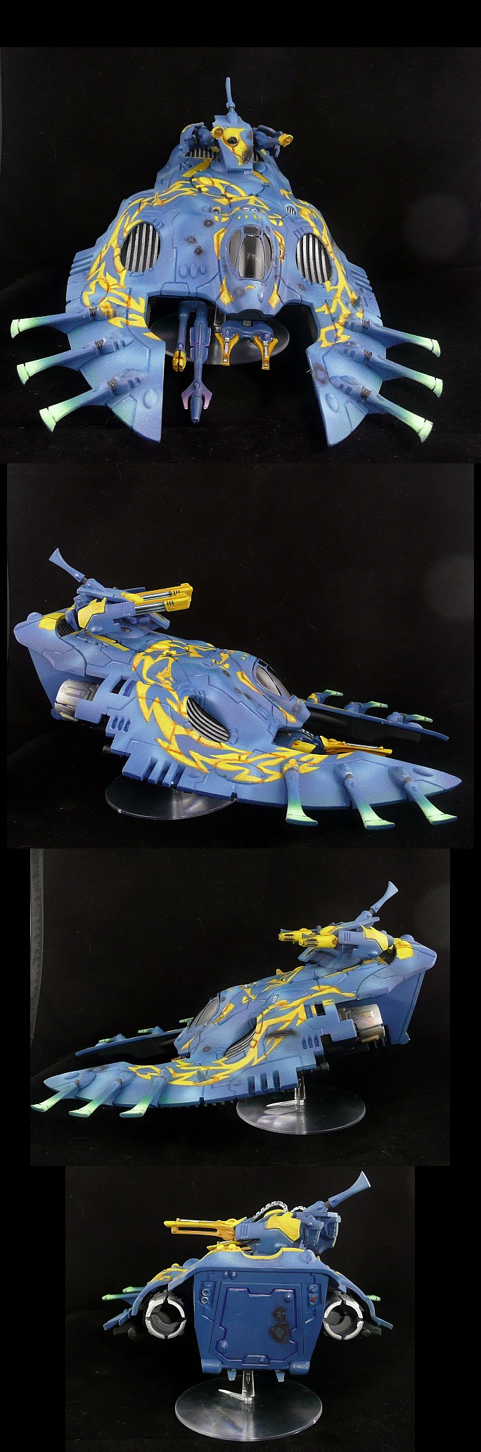 Eldar Wave Serpent Iyanden