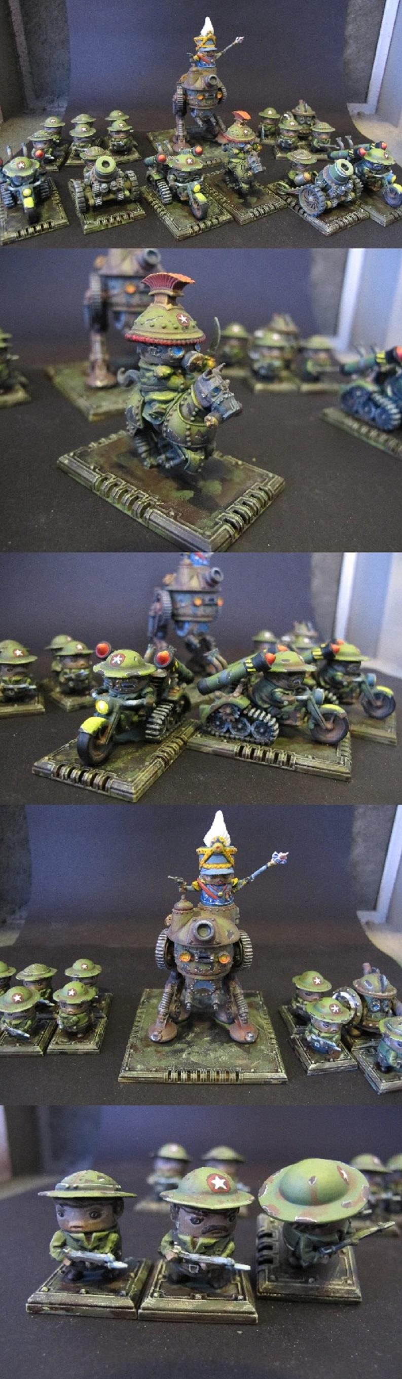 allied army