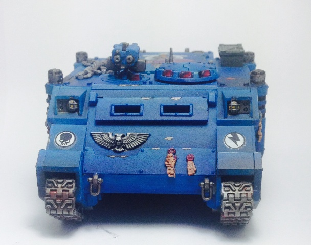 Ultramarine Rhino with Option for Whirlwind