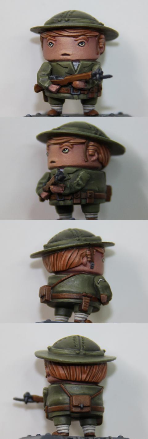 Rivet Wars Allied Soldier
